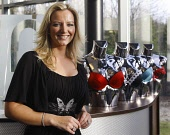 Pictured........Michelle Mone of Ultimo and MJM international pictured at her office and warehouse complex in East Kilbride near Glasgow,    PICTURE GARRY MCHARG /SCOTTISH VIEWPOINT?Tel: +44 (0) 131 6... PUBLIC, NMR michelle,mone,mjm,international,bra,firm,east,kilbride,factory,empire,lingerie
