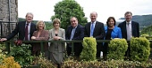 (L-R) Michael Russell MSP Minister for Environment; Linda Fabiani MSP Minister for Europe, External Affairs and Culture; Nicola Sturgeon MSP Deputy First Minister and Health Secretary;  Alex Salmond M... Public, NMR POLITICS