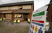 Pictured........General views of construction workers building new homes in Glasgow Scotland...... PIC: GARRY MCHARG/SCOTTISHVIEWPOINT Tel: +44 (0) 131 622 7174   Fax: +44 (0) 131 622 7175 E-Mail : in... Public, NMR hi-viz,vest,builders,construction,new,homes,cloud,housing,market,health,safety,and,joiner,electrician,bricklayer,black,site