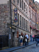 People browsing the menu outside The Witchery restaurant and hotel. PIC:GARRY MCHARG/SCOTTISH VIEWPOINT  Tel: +44 (0) 131 622 7174  Fax: +44 (0) 131 622 7175  E-Mail : info@scottishviewpoint.com  This... Public, NMR accommodation,eat,eatery,eating,edinburgh,food,hotel,old town,scotland,scottish,sign,signage,view,viewing.