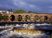 Devorgilla bridge DUMFRIES DUMFRIES GALLOWAY Multiple stone arch bridge across River Nith  Pic: Doug Houghton / Scottish Viewpoint Tel: +44 (0) 131 622 7174 Fax: +44 (0) 131 622 7175 E-Mail: info@scot... Public dumfries,galloway,devorgilla,bridge,river,nith,scotland,scottish,spans,spanning,crossing,historical,history,heritage,pure,freshwater,fresh,current,currents,flowing,running,moving,rush,force,fast,rapid
