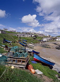 COLLIESTON ABERDEENSHIRE Fishing village sandy beach boats beached with stacked crab lobster creels  Pic: Doug Houghton / Scottish Viewpoint Tel: +44 (0) 131 622 7174 Fax: +44 (0) 131 622 7175 E-Mail:... Public aberdeenshire,collieston,creels,boats,fishing,sand,scotland,scottish,harbor,port,haven,quayside,quay,side,water,front,tourism,holiday,vacation,coastal,fishery,sea,beaches,traditional,crab,crabs,fish,p