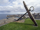 MACDUFF BANFFSHIRE Anchor on hill above town and harbour  Pic: Doug Houghton / Scottish Viewpoint Tel: +44 (0) 131 622 7174 Fax: +44 (0) 131 622 7175 E-Mail: info@scottishviewpoint.com Web: www.scotti... Public banffshire,macduff,anchor,harbour,town,port,scotland,scottish,coastal,community,fishing,fishery,industry,buchan,ness,district,harbor,shipping,maritime,shelter,haven,inlet,quay,side,water,front,waterfr