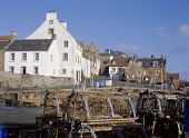CRAIL FIFE Fishing village with harbour crab creels lobster pots  Pic: Doug Houghton / Scottish Viewpoint Tel: +44 (0) 131 622 7174 Fax: +44 (0) 131 622 7175 E-Mail: info@scottishviewpoint.com Web: ww... Public fife,crail,fishing,village,east,neuk,harbour,creel,scotland,scottish,whitewash,harbor,waterfront,front,sea,water,port,quay,side,fish,industry,community,haven,blue,sky,historic,history,historical,build