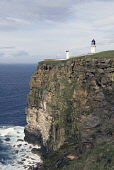 Dunnet Head Lighthouse DUNNET HEAD CAITHNESS Seacliffs light tower beacon building overlooking Pentland Firth  Pic: Doug Houghton / Scottish Viewpoint Tel: +44 (0) 131 622 7174 Fax: +44 (0) 131 622 71... Public caithness,dunnet,head,lighthouse,sea,cliff,firth,scotland,scottish,northern,light,house,board,nlhb,whitewash,whitewashed,washed,shipwreck,shipwrecking,shipping,maritime,warning,warn,naval,nautical,nav