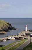 LYBSTER CAITHNESS Lighthouse tower boats at harbour quayside  Pic: Doug Houghton / Scottish Viewpoint Tel: +44 (0) 131 622 7174 Fax: +44 (0) 131 622 7175 E-Mail: info@scottishviewpoint.com Web: www.sc... Public caithness,lybster,scotland,scottish,light,house,beacon,maritime,harbor,quay,pier,jetty,port,haven,tourist,tourism,travel,holiday,vacation,community,coastal,fishery,marine,building,navigation,horizon,n