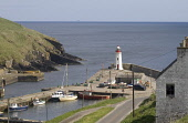 LYBSTER CAITHNESS Lighthouse tower boats at harbour quayside  Pic: Doug Houghton / Scottish Viewpoint Tel: +44 (0) 131 622 7174 Fax: +44 (0) 131 622 7175 E-Mail: info@scottishviewpoint.com Web: www.sc... Public caithness,lybster,harbour,lighthouse,tower,boats,scotland,scottish,light,house,beacon,maritime,harbor,port,quay,pier,jetty,haven,tourist,tourism,travel,holiday,vacation,community,coastal,fishery,marin