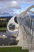 Falkirk Wheel CAMELON STIRLINGSHIRE Canal revolving boat lift boating basin Forth and Clyde and Union canals  Pic: Doug Houghton / Scottish Viewpoint Tel: +44 (0) 131 622 7174 Fax: +44 (0) 131 622 717... Public falkirk,wheel,canals,link,revolving,lock,boat,lift,scotland,forth,clyde,joining,join,waterway,inland,locks,connecting,millenium,scheme,tourism,vacation,pastime,outdoors,holiday,holidaymakers,tourists,