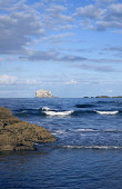 Bass Rock NORTH BERWICK LOTHIAN Sandy beach and craggy bird sanctuary island rock Firth of Forth  Pic: Doug Houghton / Scottish Viewpoint Tel: +44 (0) 131 622 7174 Fax: +44 (0) 131 622 7175 E-Mail: in... Public lothian,north,berwick,bass,rock,firth,forth,sea,scotland,scottish,mouth,crag,lighthouse,lauder,family,covenanters,wildlife,seabirds,gannet,colony,geology,sand,beaches,bay,water,tide,tidal,coastal,coas