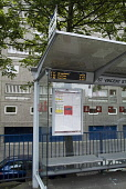Bus stop BUS GLASGOW Electronic displaying bus arrives at Glasgow bus halt  Pic: Doug Houghton / Scottish Viewpoint Tel: +44 (0) 131 622 7174 Fax: +44 (0) 131 622 7175 E-Mail: info@scottishviewpoint.c... Public bus,stop,halt,electronic,displaying,technology,scotland,scottish,automatic,computerised,transport,stance,busstance,busway,public,mass,transit,network,service,system,travel,commutering,showing,presenti