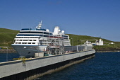 Passenger cruise liner Azamara Journey docked harbour and lighthouse  SCRABSTER CAITHNESS  Pic: Doug Houghton / Scottish Viewpoint Tel: +44 (0) 131 622 7174 Fax: +44 (0) 131 622 7175 E-Mail: info@scot... Public caithness,scrabster,scottish,port,cruise,liner,travel,journey,route,trip,tourist,tourism,trade,holidays,vacations,breaks,holiday,vacation,break,passenger,azamara,docked,harbour,boat,pleasure,leisure,s