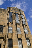 Building designed by Charles Rennie Mackintosh Glasgow School of Art ART SCHOOL GLASGOW  Pic: Doug Houghton / Scottish Viewpoint Tel: +44 (0) 131 622 7174 Fax: +44 (0) 131 622 7175 E-Mail: info@scotti... Public glasgow,art,school,charles,rennie,mackintosh,city,scotland,scottish,building,designed,buildings,outdoors,exteriors,outsides,exterior,outdoor,outside,external,architectural,architecture,built,education