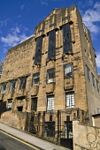 Building designed by Charles Rennie Mackintosh Glasgow School of Art ART SCHOOL GLASGOW  Pic: Doug Houghton / Scottish Viewpoint Tel: +44 (0) 131 622 7174 Fax: +44 (0) 131 622 7175 E-Mail: info@scotti... Public glasgow,school,art,rennie,mackintosh,building,city,scotland,scottish,designed,charles,buildings,outdoors,exteriors,outsides,exterior,outdoor,outside,external,architectural,architecture,built,education
