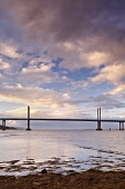 The Kessock Bridge is a cable-stayed bridge across the Beauly Firth, an inlet of the Moray Firth, between the village of North Kessock and the city of Inverness in the Scottish Highlands. Construction... Public, NMR Travel,Places,Interest,Inverness,Highland,Region,Inverness-shire,Scotland,UK,Span,A9,Link,Black,Isle,North,Road,Commuter,Tansport,Traffic,Business,Commercial,Economic,Tourism,water,coast,coastal,Atmos