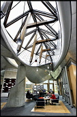 THE GARDEN LOBBY AT THE NEW SCOTTISH PARLIAMENT, EDINBURGH, A MEETING PLACE FOR MSP's AND THEIR GUESTS TO ENJOY A COFFEE ETC.  PIC: Paul Dodds / Scottish Viewpoint TEL: +44 (0) 131 622 7174 FAX: +44 (... Public, NMR INTERIOR,HOLYROOD,POLITICS