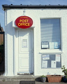 The closure of many post offices in both rural and urban areas has been an important political issue in many communities in Scotland. This post office serves the small community in Kilchoan on the Ard... sunny,building,royal mail,communications,village