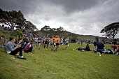 Hill Race at The Island of Skye Highland Games, Portree, Inner Hebrides. Pic: Marcus McAdam / Scottish Viewpoint Tel: 0044 (0) 131 622 7174 Fax:0044 (0) 131 622 7175 E-Mail: info@scottishviewpoint.com... Public, NMR Athletes,Athletics,Attraction,Competitors,Crowd,Cultural,Heritage,Highland Games,Highlands,Hill race,Isle of Skye,Portree,Race,Runners,Running,Scotland,Tourism,Tradition,Traditional,ISLAND,PEOPLE