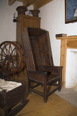 Bod of Gremista LERWICK SHETLAND Shetland wooden chair Arthur Andersons birthplace museum  Pic: Doug Houghton / Scottish Viewpoint Tel: 0044 (0) 131 622 7174 Fax: 0044 (0) 131 622 7175 E-Mail: info@sc... Public, NMR shetland,lerwick,arthur,andersons,birthplace,chair,scotland,scottish,attraction,heritage,tourist,visitor,sightseer,exhibitions,entertainment,educate,education,eductional,tourism,travel,historical,hist