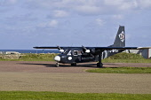 NORTH RONALDSAY ORKNEY Loganair Britten Norman Islander airplane taxiing on airfield runway  Pic: Doug Houghton / Scottish Viewpoint Tel: 0044 (0) 131 622 7174 Fax: 0044 (0) 131 622 7175 E-Mail: info@... Public, NMR orkney,north,ronaldsay,loganair,islander,airplane,air,turboprop,turbo,prop,propellor,aviation,flight,scheduled,britten,norman,runway,taxiing,airfield,aerodrome,airliner,aircraft,aeroplane,scotland,isl
