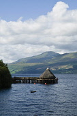 Loch Tay KENMORE PERTHSHIRE Scottish Crannog Centre Loch Tay Crannog building  Pic: Doug Houghton / Scottish Viewpoint Tel: 0044 (0) 131 622 7174 Fax: 0044 (0) 131 622 7175 E-Mail: info@scottishviewpo... Public, NMR loch,tay,scotland,crannog,centre,prehistoric,home,scottish,building,kenmore,perthshire,museum,exhibition,museums,exhibitions,exhibit,show,educational,vistor,attraction,tourist,attractions,historical,h