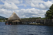 Loch Tay KENMORE PERTHSHIRE Scottish Crannog Centre Loch Tay Crannog building  Pic: Doug Houghton / Scottish Viewpoint Tel: 0044 (0) 131 622 7174 Fax: 0044 (0) 131 622 7175 E-Mail: info@scottishviewpo... Public, NMR scottish,crannog,centre,scotland,loch,tay,dwelling,building,kenmore,perthshire,highlands,museum,exhibition,museums,exhibitions,exhibit,show,educational,vistor,attraction,tourist,attractions,historical