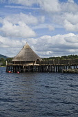 Loch Tay KENMORE PERTHSHIRE Scottish Crannog Centre Loch Tay Crannog wood building  Pic: Doug Houghton / Scottish Viewpoint Tel: 0044 (0) 131 622 7174 Fax: 0044 (0) 131 622 7175 E-Mail: info@scottishv... Public, NMR scottish,crannog,centre,loch,tay,perthshire,timber,heritage,scotland,building,kenmore,prehistory,prehistoric,house,construction,pre,historic,cultures,history,historical,dwelling,place,highlands,prehis