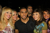 Amir Khan (boxer) at the Mobo Awards After Show Party held at the Corinthian nightclub in the city centre of Glasgow. 30th September 2009 Pic: Garry McHarg / Scottish Viewpoint Tel: +44 (0) 131 622 71... Public, NMR entertainment,event,music,urban,black,origin