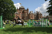 Thirlstane Horse Trials - Scottish Borders Picture credit: Jason Baxter / Scottish Viewpoint Tel: +44 (0) 131 622 7174 Fax: +44 (0) 131 622 7175 E-Mail: info@scottishviewpoint.com Web: www.scottishvie... Public, NMR horse,trials,competition,compete,horses,event,eventing,scotland,scottish,bordes,thirlstane,countryside,country,sport,outdoors,cross country,focus,equestrian,3 day,XC,fence,jump,jumping,water
