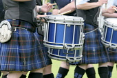 Innerleithen Pipe Band Competition 2009, Innerleithen, Scottish Borders.  Pic: Jason Baxter / Scottish Viewpoint Tel: +44 (0) 131 622 7174 Fax: +44 (0) 131 622 7175 E-Mail: info@scottishviewpoint.com... Public, NMR innerleithen,borders,scotland,event,piper,bagpipes,drum,drummers,perform,music,culture,cultural,loud,competition,st ronan piping society,march,marching,entertain,entertaining,pastime,hobby,kilt,kilts,