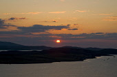 Sunset over Isle of Ewe & Loch Ewe at Aultbea Highland Scotland  Picture Credit: D. G. Farquhar / Scottish Viewpoint Tel: +44 (0) 131 622 7174 Fax: +44 (0) 131 622 7175 E-Mail: info@scottishviewpoint.... Public Night,Scotland,Evening,Sundown,Aultbea,Highland,Isle of Ewe,Loch Ewe,Sunset,atmospheric,orb,dramatic