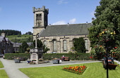 The church at Aberlour, Speyside, Moray. Picture Credit: Iain McLean / Scottish Viewpoint Tel: +44 (0) 131 622 7174 Fax: +44 (0) 131 622 7175 E-Mail: info@scottishviewpoint.com Web: www.scottishviewpo... Public, MR summer,sunny,religion,charlestown,flowers,park