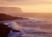 Qui Ayre YESNABY ORKNEY White waves breaking on rocks Hoy and sun setting  Picture Credit: Doug Houghton / Scottish Viewpoint Tel: +44 (0) 131 622 7174   Fax: +44 (0) 131 622 7175 E-Mail : info@scotti... Public orkney,yesnaby,seacoast,dusk,seascape,sunsetting,scotland,scottish,pink,orange,coast,coastal,coastline,line,shore,seashore,shoreline,littoral,headland,head,land,peninsula,rocky,craggy,rough,rugged,sea