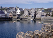 Harbour STROMNESS ORKNEY Lobster creels waterfront quayside harbour houses town  Picture Credit: Doug Houghton / Scottish Viewpoint Tel: +44 (0) 131 622 7174   Fax: +44 (0) 131 622 7175 E-Mail : info@... Public orkney,stromness,harbour,waterfront,houses,creels,scotland,scottish,crabs,fish,pots,seafront,bay,harbor,fishing,shipping,shelter,haven,hamnavoe,seas,inlet,historic,history,historical,whalers,port,scen