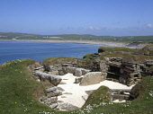 Bay of Skaill SKARA BRAE ORKNEY Prehistoric neolithic village settlement stone house room ruins  Picture Credit: Doug Houghton / Scottish Viewpoint Tel: +44 (0) 131 622 7174   Fax: +44 (0) 131 622 717... Public orkney,skara,brae,bay,of,skaill,scotland,scottish,megalithic,bronze,age,small,community,masonry,stonework,stone,work,drystone,dry,building,house,homestead,traditional,buildings,inhabit,inhabiting,dwel