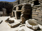 SKARA BRAE ORKNEY Neolithic village settlement prehistoric house room dresser  Picture Credit: Doug Houghton / Scottish Viewpoint Tel: +44 (0) 131 622 7174   Fax: +44 (0) 131 622 7175 E-Mail : info@sc... Public orkney,skara,brae,prehistoric,house,room,dresser,scotland,scottish,excavated,excavation,excavations,rebuilt,restore,restored,restoration,remains,ruin,heritage,tradition,traditions,traditional,culture,