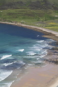 Rackwick Bay HOY ORKNEY Seawave breakers rolling ashore sandy rocky beach small crofts  Picture Credit: Doug Houghton / Scottish Viewpoint Tel: +44 (0) 131 622 7174   Fax: +44 (0) 131 622 7175 E-Mail... Public orkney,hoy,rackwick,bay,view,coast,shore,seawaves,countryside,country,side,scene,scenic,picturesque,beautiful,vista,coastal,coastline,seascape,littoral,white,silver,lookout,look,out,viewpoint,point,se