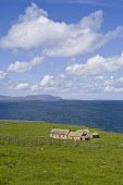 Hoxa SOUTH RONALDSAY ORKNEY Croft cottage overlooking Scapa Flow  Picture Credit: Doug Houghton / Scottish Viewpoint Tel: +44 (0) 131 622 7174   Fax: +44 (0) 131 622 7175 E-Mail : info@scottishviewpoi... Public orkney,south,ronaldsay,hoxa,croft,house,cottage,isles,islands,highlands,orkneys,scotland,isle,scottish,island,stone,homestead,home,stead,heritage,building,buildings,outsides,scapa,flow,sea,coast,coast