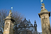 Palace gates at Holyrood Palace rot iron gate unicorn decoration  HOLYROOD PALACE EDINBURGH  Picture Credit: Doug Houghton / Scottish Viewpoint Tel: +44 (0) 131 622 7174   Fax: +44 (0) 131 622 7175 E-... Public holyrood,palace,gates,edinburgh,visitor,attraction,scottish,at,rot,iron,gate,unicorn,decoration,monarch,reigning,sovereign,reign,tourism,scotland,royal,heritage,tourist,attractions,travel,sight,site,p