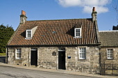 Andrew Carnegie birthplace cottage Museum building Andrew Carnegie Museum DUNFERMLINE FIFE  Picture Credit: Doug Houghton / Scottish Viewpoint Tel: +44 (0) 131 622 7174   Fax: +44 (0) 131 622 7175 E-M... Public dunfermline,cottage,andrew,carnegie,birthplace,museum,building,fife,exhibition,museums,exhibitions,exhibit,show,educational,vistor,attraction,tourist,attractions,born,birth,place,origin,birthplaces,pl
