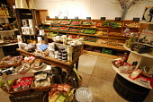 The shop at Cairnie Fruit Farm, near Cupar, Fife. Picture Credit: Chris Robson / Scottish Viewpoint Tel: +44 (0) 131 622 7174 Fax: +44 (0) 131 622 7175 E-Mail: info@scottishviewpoint.com Web: www.scot... Public 2010,summer,pick your own,PYO,produce,farming,crop,local,food,eating,agriculture,soft,retail,gooseberries,strawberries,raspberries,blackcurrants,rasps,straws,vegetables
