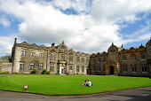 St. Salvator's College, University of St Andrews, St Andrews, Fife. Picture Credit: Chris Robson / Scottish Viewpoint Tel: +44 (0) 131 622 7174   Fax: +44 (0) 131 622 7175 E-Mail : info@scottishviewpo... Public, NMR summer,sunny,education,students,people,buildings,learning,higher,tertiary,quadrangle,2009