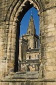 Old Church twelfth century Benedictine Abbey through arched window Dunfermline abbey DUNFERMLINE FIFE  Picture Credit: D. Houghton / Scottish Viewpoint Tel: +44 (0) 131 622 7174   Fax: +44 (0) 131 622... Public dunfermline,abbey,scottish,historical,church,fife,old,twelfth,century,benedictine,through,arched,window,abbot,cathedral,buildings,monastery,historic,building,christian,heritage,history,scotland,attrac