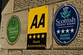 AA four star Guest House plaque Scottish Tourist Board Green Tourism plate  TOURISM SCOTLAND  Picture Credit: D. Houghton / Scottish Viewpoint Tel: +44 (0) 131 622 7174   Fax: +44 (0) 131 622 7175 E-M... Public green,tourism,plate,scotland,information,aa,four,star,guest,house,plaque,scottish,tourist,board,visitor,ecotourist,signs,holiday,accommodation,hotel,sign,travel,vacation,break,travels,holidays,vacatio
