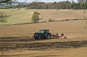 Tractor raking ploughed farmland field  FARMING FIFE  Picture Credit: D. Houghton / Scottish Viewpoint Tel: +44 (0) 131 622 7174   Fax: +44 (0) 131 622 7175 E-Mail : info@scottishviewpoint.com This ph... Public scottish,tractor,field,farming,scotland,ploughing,raking,ploughed,farm,valley,fife,plough,plow,ploughs,plows,tractors,machines,vehicles,machine,farms,vehicle,uk,fieldworker,farmer,agricultural,fields,