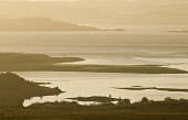Early morning light over Duart Bay and the Forth of Lorne, looking towards the mainland from Achnacroish on the Isle of Mull  Picture Credit: Alan Gordon /Scottish Viewpoint Tel: +44 (0) 131 622 7174... Public Scotland,Scottish,Highlands,Mull,Lorne,Duart,sea,coast,bay,firth,island,wild,wilderness,sunrise,dawn,morning,outdoor,activities,tourist,destinations,scenic,Mountains|Islands|Mull,Places|Scotland|Mull