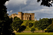 Inverness Castle, Highland. Picture Credit : Laurence Leech / Scottish Viewpoint Tel: +44 (0) 131 622 7174   Fax: +44 (0) 131 622 7175 E-Mail : info@scottishviewpoint.com This photograph can not be us... Public summer,sunny,building,river ness,highlands