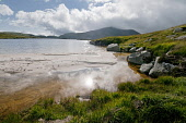 Loch Enoch, Dumfries and Galloway.  Picture Credit: Allan Wright / Scottish Viewpoint Tel: +44 (0) 131 622 7174   Fax: +44 (0) 131 622 7175 E-Mail : info@scottishviewpoint.com This photograph cannot b... Public and galloway,atmospheric,blue sky,boulder,bright,clouds,dramatic,dry,dumfries and galloway,Galloway,Galloway Forest Park,granite basin,hills,lapping,loch,lochan,marsh,moorland,mountain,multi-basin,nat