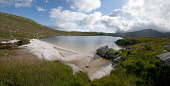 Loch Enoch, Galloway Forest Park, Dumfries and Galloway. Picture Credit: Allan Wright / Scottish Viewpoint Tel: +44 (0) 131 622 7174   Fax: +44 (0) 131 622 7175 E-Mail : info@scottishviewpoint.com Thi... Public and galloway,blue sky,boulder,bright,clouds,dry,dumfries and galloway,Galloway,Galloway Forest Park,granite basin,hills,lapping,loch,lochan,marsh,moorland,mountain,multi-basin,natural,nature,nature re