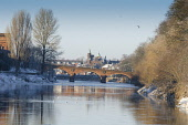St Michael's Street Bridge over the River Nith, Dumfries. Picture Credit: Allan Wright / Scottish Viewpoint Tel: +44 (0) 131 622 7174   Fax: +44 (0) 131 622 7175 E-Mail : info@scottishviewpoint.com Th... Public ancient,atmospheric,beautiful,blue,blue sky,bridge,burns,clear,cold,crisp,crystal clear,dock park,dry,Dumfries & Galloway,dumfries and galloway,dumfriesshire,elegant,frosty,frozen,graceful,nithsdale,p