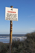 A sign warning of erosion at Montrose beach.The issue at Montrose beach was posing a public safety risk and that increasing tides would make the dunes more unstable Picture Credit: Allan Coutts / Scot... Public Montrose,dunes,erosion,tides,storms,unstable,danger,safety,risk,beach,sand,sign,coast,coastal,weather,grass,advice,atmosphere,atmospheric,awe,beauty in nature,Blue,climate,color,colour,communication,d